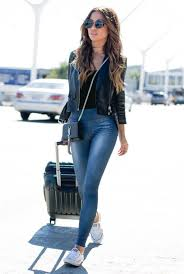 travel outfits images Travel outfits airport style how to look fashionable during jpg