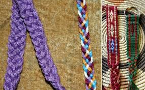 braided weave bracelet images Tutorial 5 strand flat braid backstrap weaving jpg