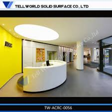 Illuminated Reception Desk China Modern Design Acrylic Illuminated Reception Desk Spa