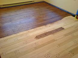 staining hardwood floors sanding and finishing in bc