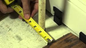How To Install Pergo Laminate Flooring How To Install Pergo Flooring Chapter 7 Installing Around Odd