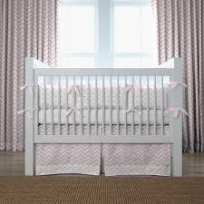 light pink and grey nursery bedding thenurseries