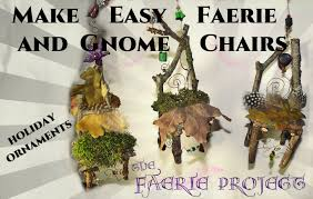 how to make gnome and faery chair ornaments part 2 the faerie