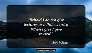 charity quotes contribution quotations sayings
