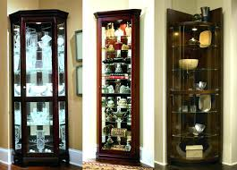 are curio cabinets out of style black corner curio cabinet wood display sliding glass door hutch