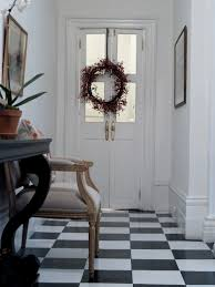 Retro Flooring by The Black And White Checkered Floor Lorri Dyner Design