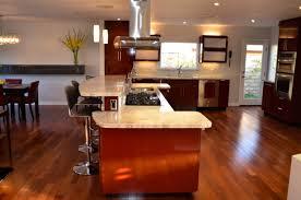 kitchen floor kitchen layout l shape hardwood floors butchers
