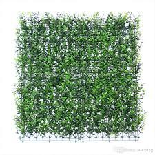 2017 50cm x 50cm artificial plants wall garden decoration