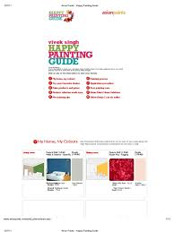 asian paints happy painting guide paint manmade materials