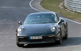 camo porsche 911 2019 porsche 911 smiles for the camera while testing on the