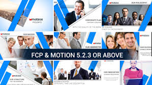 corporate for fcp x apple motion by dollarhunter videohive