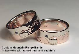 the bears wedding band customer stories and pictures about designet s wedding rings from