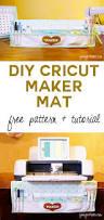 my cricut maker mat organizer dust cover in one