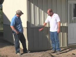 Metal Siding For Pole Barns Steel Pole Barn Affordable Steel Pole Barns Youtube
