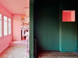 in his barcelona home guillermo santomà used vibrant shades of