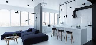 minimalist apartment in kiev ukraine boasts modern furniture and