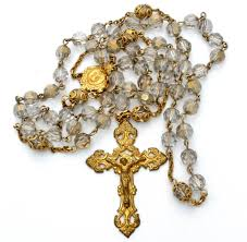 rosary store catholic rosary crystals gold filled crucifix vintage the