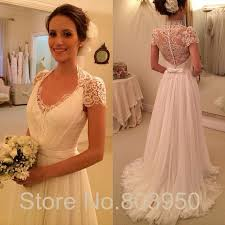 wedding dress suppliers aliexpress buy boho wedding dress lace covered back cap