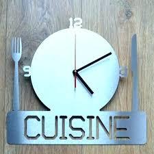 horloge murale cuisine originale horloge de cuisine originale pendule with horloge murale