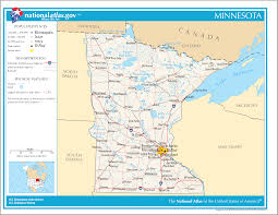 The Map Of The Usa by Minnesota State Maps Usa Maps Of Minnesota Mn Minnesota Lakes Map
