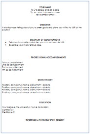 how to format resume how to format a resume learnhowtoloseweight net