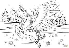 pegasus coloring pages 6476