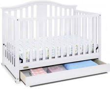 Convertible Crib With Storage Graco Solano 4 In 1 Convertible Crib With Drawer White Ebay