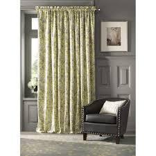 home decorators collection semi opaque lillian 108 in l cotton