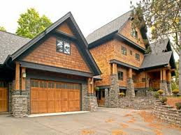 garage houses cedar shakes above garage door wooden unvarnished coplay garage