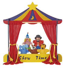 circus puppets my play circus puppet theatre 5 finger puppets interactive