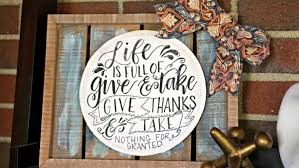 diy thanksgiving sign with free printable angie s list