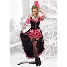 Doll Halloween Costumes Costume Saloon Burlesque Cabaret Dancer