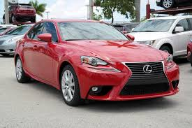 pre owned cars lexus pre owned 2016 lexus is 200t 4dr car in doral 029488a toyota of