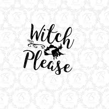witch please svg halloween svg flying witch card witch