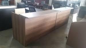 reception front desk for sale cherryman s amber 71 w reception front desk shell 71 wide x 42 high