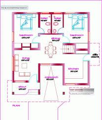 inspiring single floor house plan 1000 sq ft kerala home design