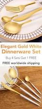 Dining Steel Plate Set Best 25 White Dinnerware Sets Ideas On Pinterest White