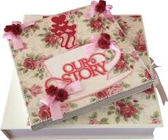 handmade scrapbook albums of crafts our story handmade scrapbook