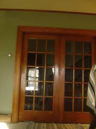glass basement doors love pocket doors maybe for the office instead of french doors
