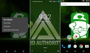 how to change lock screen on android android n dev preview lets you set different wallpapers for