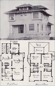 craftsman home plan northwest craftsman house plan seattle vintage houses 1908