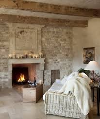 Shabby Chic Fireplaces by 59 Cool Living Rooms With Brick Walls Digsdigs