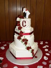 burgundy and white wedding cake cakecentral com