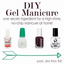 gel nails at home doing them like this later manicure diy
