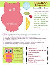 best photos of owl sewing pattern template free printable owl