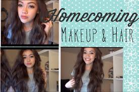 for homecoming homecoming makeup and hair