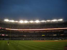 yankee stadium home run lights 4 17 11 rangers at yankees new yankee stadium observing baseball