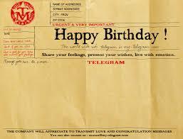 happy birthday telegrams be modern send a telegram