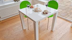 Small Square Kitchen Table by Modern Square White High Custom White Gloss Kitchen Table Home