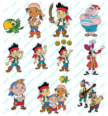 jake neverland pirates svg file pdf ai files